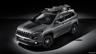 Jeep Cherokee - Rack de teto para Bike