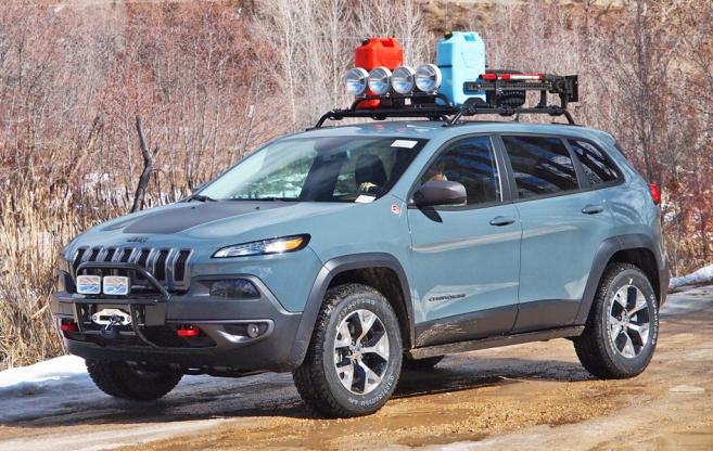 Jeep Cherokee - Rack de teto